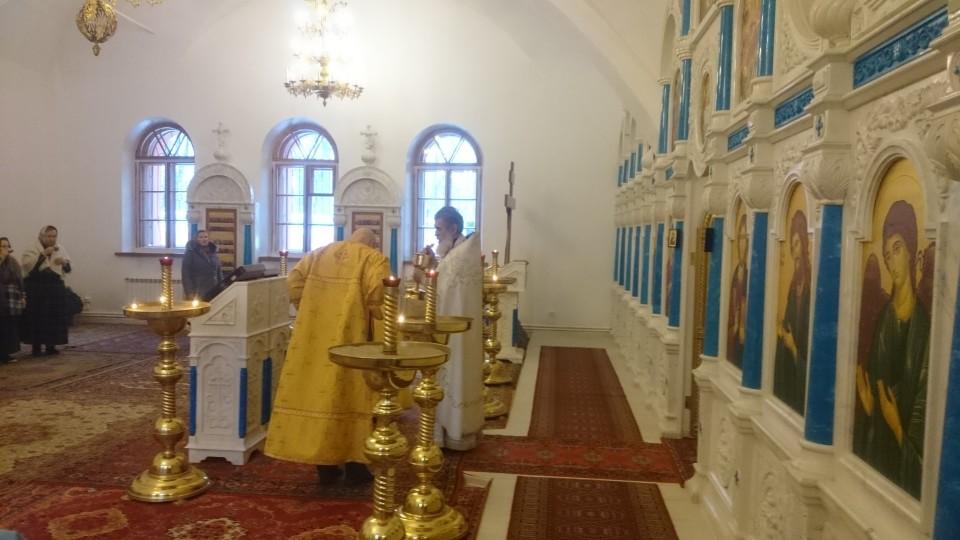 Причастие на Божественной литургии, 18 декабря 2016 г.