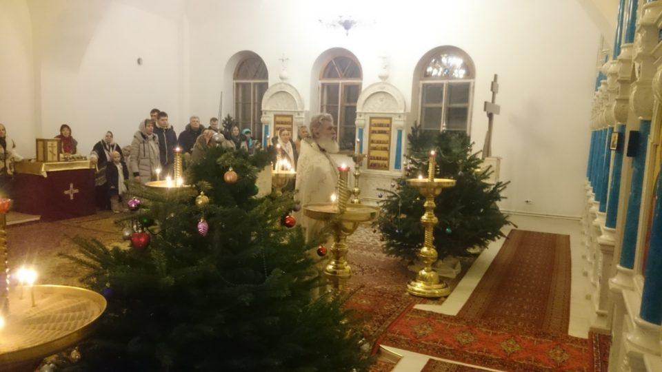Божественная Литургия на праздник Рождества Христова (7 января 2017 г.)